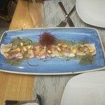 Ceviche de pez mantequilla (lo mejor)