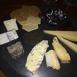 One of the best cheese platters ever