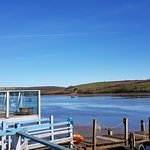 Riverside Food & Drink with views over the Tivy estuary.