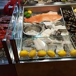 Mouthwatering seafood display
