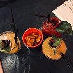Piscos de Mango y de berries :) Yummy