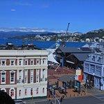 Harbor view from corner Room 609.