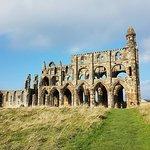 Bild från Whitby Abbey