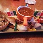 Chicken Quesadilla (with salsa)