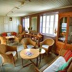 Le petit salon de l'Océan où nous servons le thé.