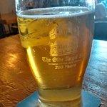 Pint of House Blonde beer