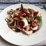 salade magret champignons