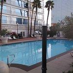Nice pool area....