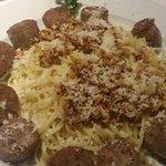 Sausage pasta...mmmmm