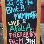 Onward, next week, Springtime, remember, Jack Pout & @andytwyman 's Blues Mammoth will be apulia