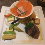 Surf and turf Le Genepi stye just delicious!!