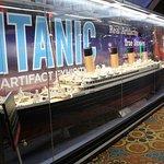 Titanic Exhibition in the Luxor