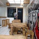 et en plus, super collaboration avec Guttierez, artiste local (boutique en centre ville)