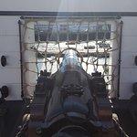 HMS Warrior Cannon