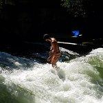 English Garden - Surfing the stream