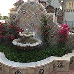 Fourth floor fountain
