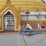 Tempelingången var stängd vid mitt besök.