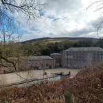 View of Cromford Mill from Scarthin Rock