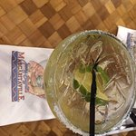 Mostly ice Perfect Margarita