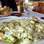 Penne fussi. Huge portion!