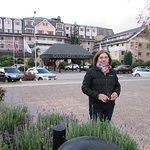 Simplemente es el frente del hotel