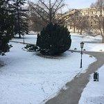 Burggarten in winter