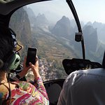 Guilin/Yangshuo Helicopter tour.