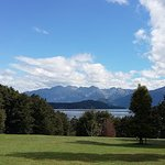 View from accross the road from The Church at Lake Manapouri