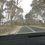 Travelling from Kingscote to Penneshaw, Kangaroo Island, South Australia