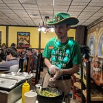 Even this Mexican restaurant got into the Irish excitement on St. Patrick's Day!