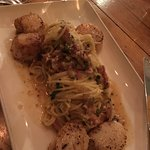 Scallop Carbonara