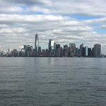 View from Staten Island Ferry back to Manhattan