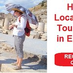 Hire a local private tour guide in Ephesus