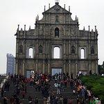 Ruin of St Paul - Facade