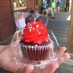 Mini Mouse Red Velvet Cup Cake