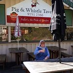 Pig and Whistle... great food and beer