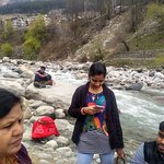 on the Bank of beas river  near vanvihar