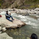 on bank of beas