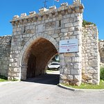 Mount Tavor - Entrance gate to the Church of the Transfiguration