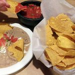 all the fixins' for the queso dip