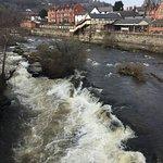River Dee flowing under the bridge