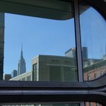 Reflecting on the gorgeous Empire State Building