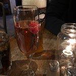 Lovely raspberry Bellini