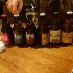 Un choix de bières artisanales