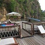 Riverside decking