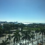 Miami Bay from the 7th floor