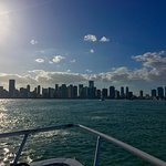 Miami Skyline from the bay