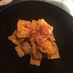 Homemade raviolli