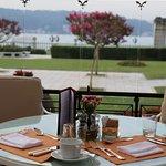 mi mesa frente al Bosforo