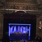 Oriental Theater stage from the balcony.